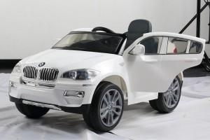 coche-bateria-infantil-bmw-x6-blanco