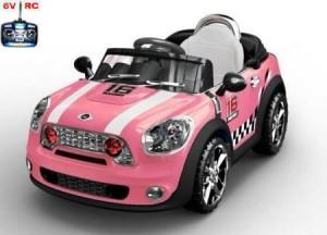 coche_INFANTIL_DE_BATERIA_12V_MINI_ROSA_RC