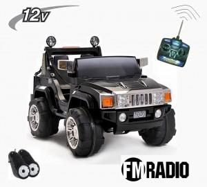 JUGUETE-coche-electrico-hummer-12V-con-rc